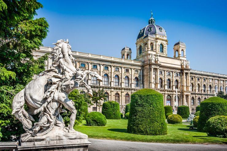 Средневековая Вена достопримечательности Австрии | 493x740